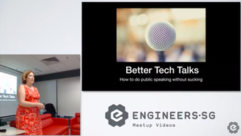 Better Tech Talks at Women Who Code Singapore